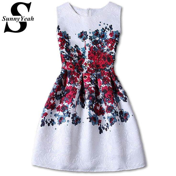vestido de festa Casual Summer Women Dress Desigual 2017 New Ladies Vintage A-Line Red Elegant Party Dresses Sundress Robe Femme