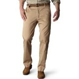 Dockers Men's Signature Khaki D1 Slim Fit Flat Front Pant, British Khaki, 34x34 (Apparel)By Dockers