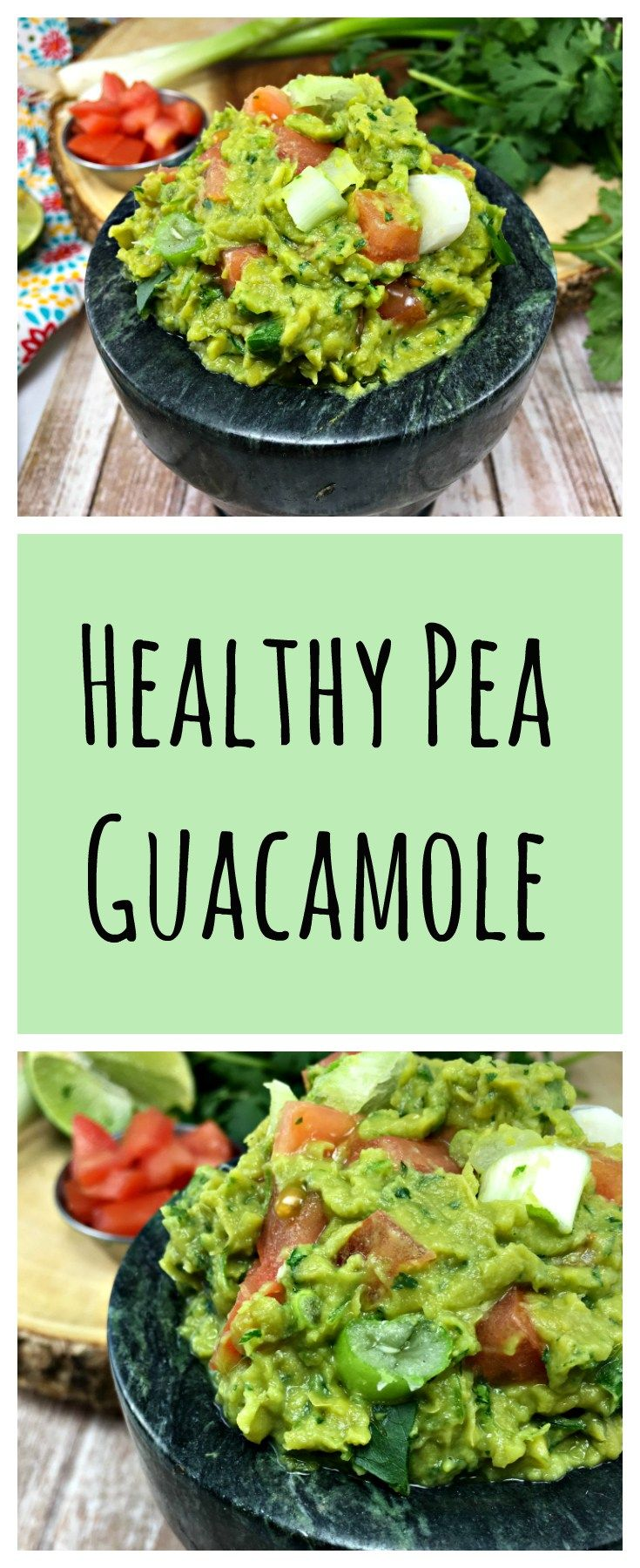Pea Guacamole, fat-free, low calorie, high protein and super creamy