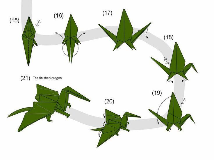 origami original: comment faire un dragon en papier