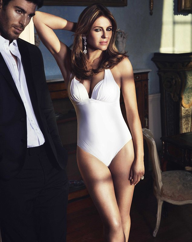 """""""As you get older it doesn't look attractive to be super skinny,"""" says Liz Hurley. What do you think?"""