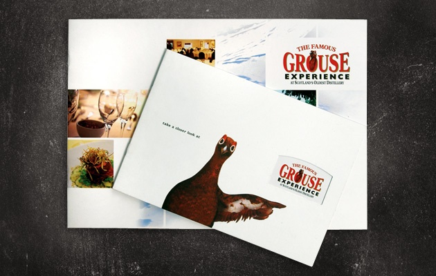Vizibility has been involved in the marketing of both the brand itself and the newly created home of the brand - 'The Famous Grouse Experience'