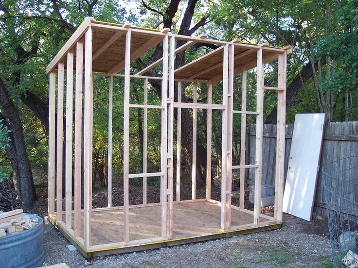 How To Build A Frame Shed Roof Happy Homesteading