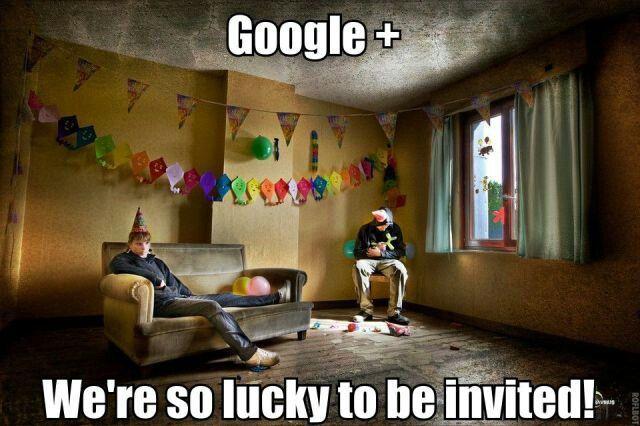Google+ à la peine...