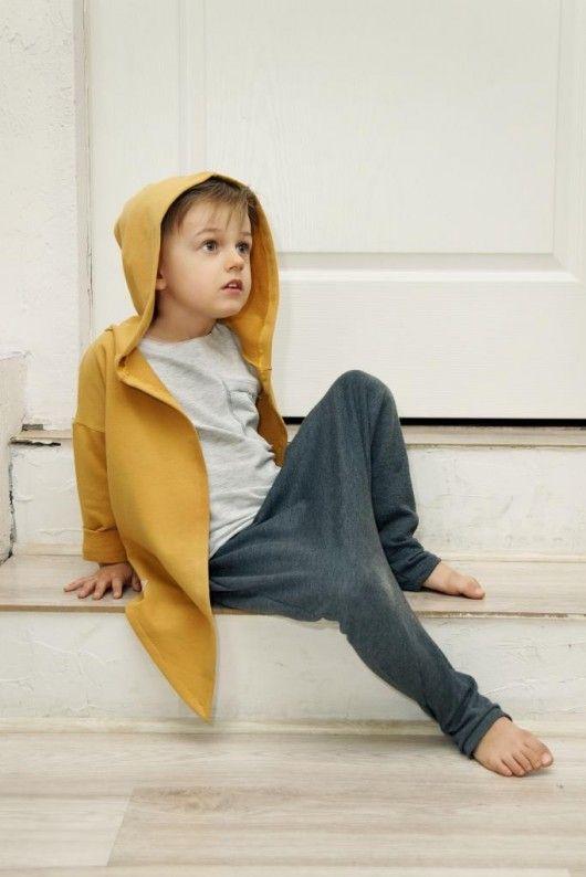 chłopiec - moda - bluzy - chłopiec-Bluza z rogami