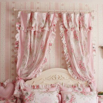 shabby chic victorian girls room - Google Search