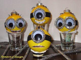 Tamara C. Design: Minion Ornaments