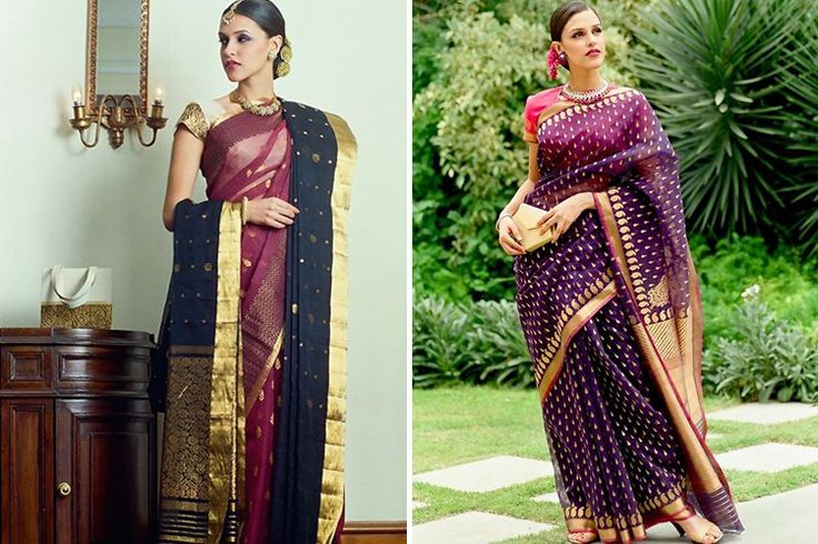 Need a Sari For A Wedding? These 10 Brands Will Stun With Their Collections Photo source: Little Black Book Delhi