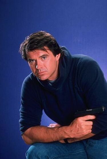 Robert Urich  (December 19, 1946 – April 16, 2002) was an American film, television and stage actor and television producer. Over the course of his 30-year career, Urich starred in a record 15 television series.