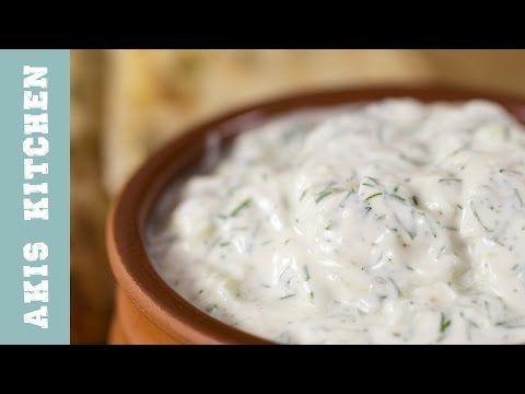 Greek Tzatziki Sauce | Akis Petretzikis