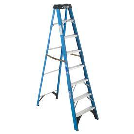 Werner 8-ft Fiberglass Step Ladder  $112