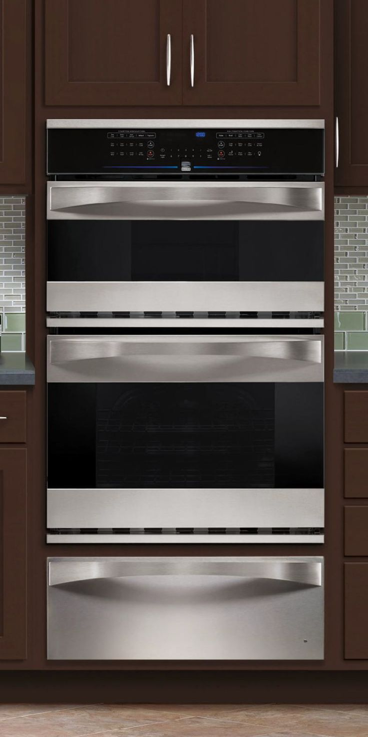 The ultimate #dreamkitchen accessory. Warming drawers keep your food warm without drying it out. Adjust the temperature, and a warming drawer transforms into a slow cook drawer, perfect for your next pot roast or soup. Choose from top-rated brands like KitchenAid, Dacor, Kenmore Elite, and more at Sears Outlet. #kitchenmakeover #kitchengoals