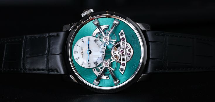 MBandF Legacy Machine 2 (LM2) Titanium Watch Hands-On