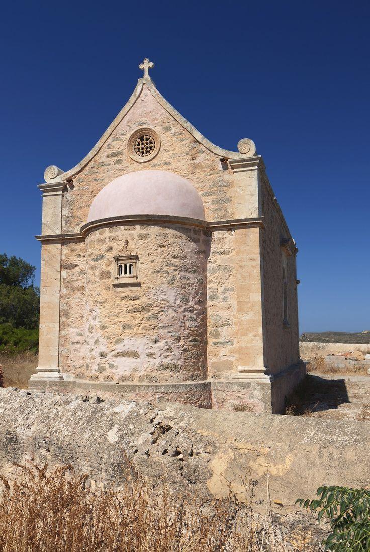 Monastery of Toplou near Vai beach, Crete