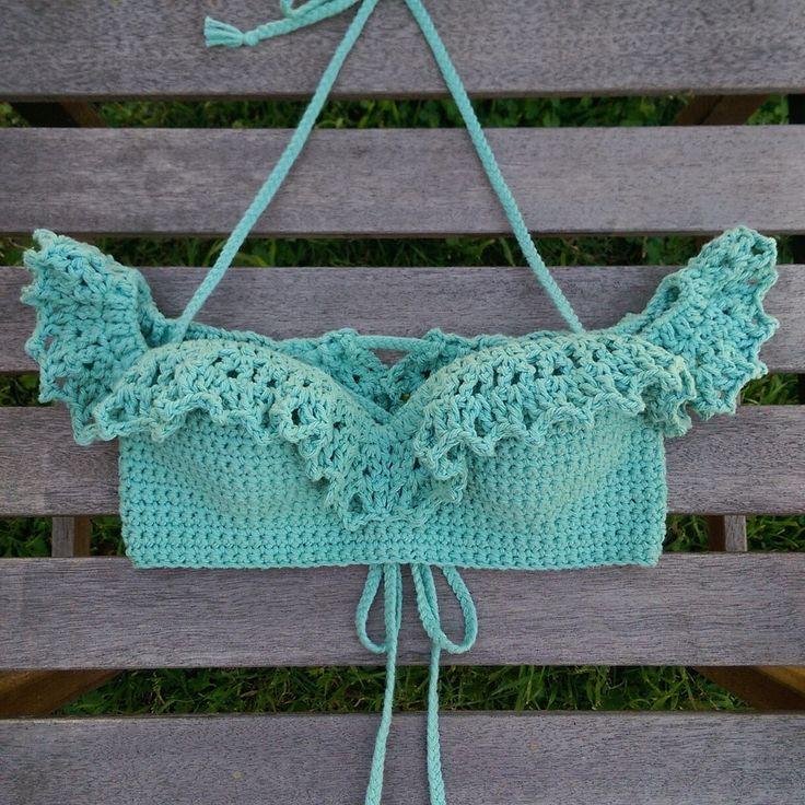 Havannah Off the Shoulder Crop -Crochet Crop Top- – LostCulture