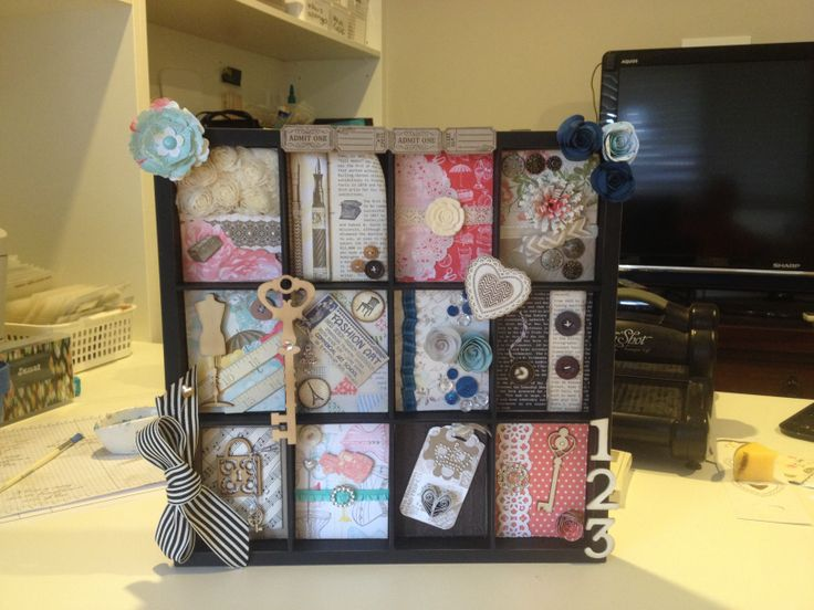 My 2nd Display board, only a couple of non Stampin' Up embellishments used.