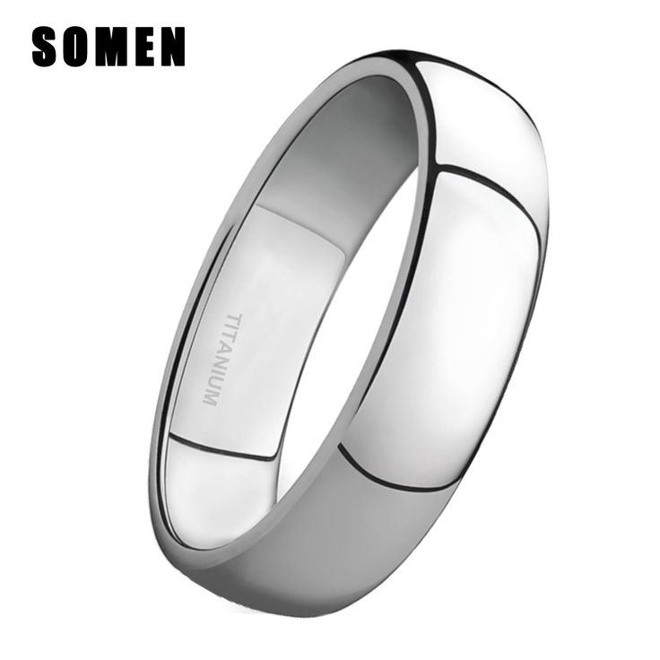 2017 New Arrival 4MM Silver Titanium Rings Wedding Engagement Band Women Promise Ring Brushed Sizes 4-15 aneis de compromisso