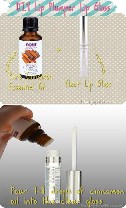 Want plump sexy lips? Create your own homemade plumpling lip gloss