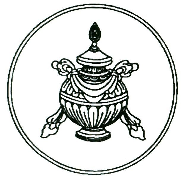 The Treasure Vase - known also as the ' wealth vase' - and ' vase of inexhaustible treasure' - became the Buddhist symbol of spiritual abundance.