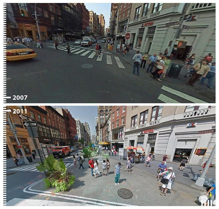 Urban View: 41 Amazing Public Space Transformations Captured By Google