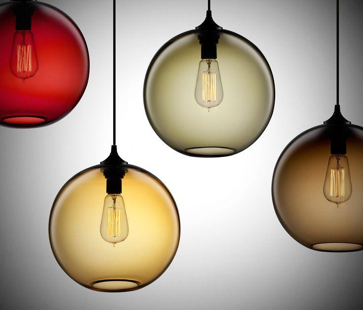 Solitaire Modern Pendant Light von Niche