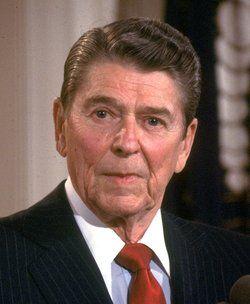 Ronald Reagan 40th American President ( 1981 - 1989 )  Born Ronald Wilson Reagan February 6, 1911 Tampico, Illinois, U.S.   Died June 5, 2004 (aged 93) Bel Air, California, U.S.