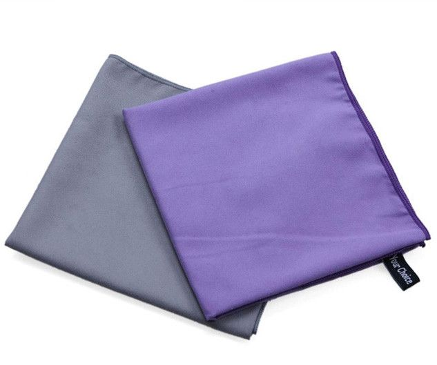 100% Microfiber Sports Towels (2-Pack) from sheerFAB.com