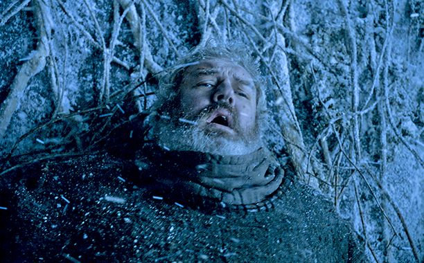 "The most emotional moment of Game of Thrones season 6 put one actor asleep.  Speaking to EW Radio (SiriusXM ch. 105) at Comic-Con on Friday, Bran actor Isaac Hempstead Wright said he dozed off during Hodor's tragic and heroic death scene.  ""I just had to lie down,"" Wright said. ""I literally, actually fell asleep.""  ""And no one noticed,"" Hodor actor Kristian Nairn joked in response.  ""It was a long day!"" Wright said."