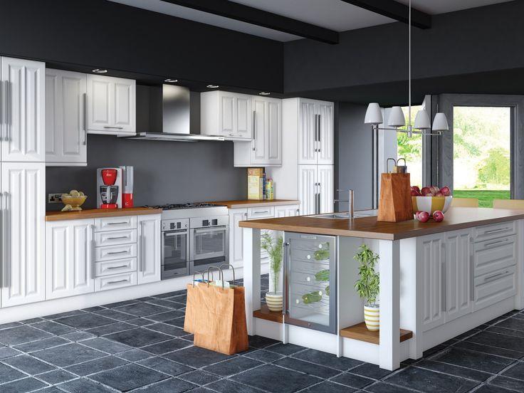 96 best Dream Doors Kitchens images on Pinterest   Ranges, Door ...