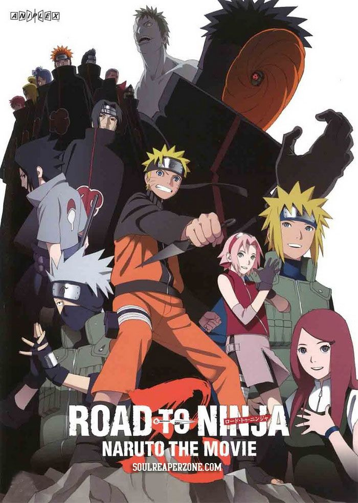 Naruto Shippuuden Movie 6 Road to Ninja Bluray [BD