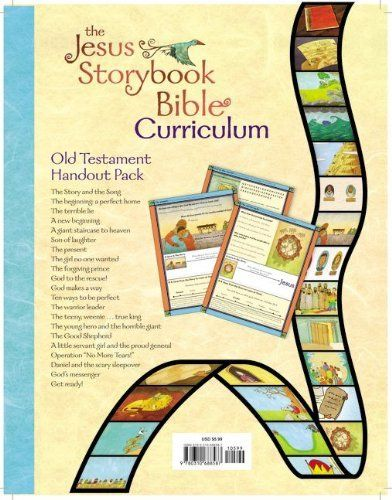 Jesus Storybook Bible Curriculum Kit Handouts, Old Testament by Sally Lloyd-Jones. $5.99. Author: Sally Lloyd-Jones. Publisher: Zondervan (February 7, 2012). Reading level: Ages 4 and up