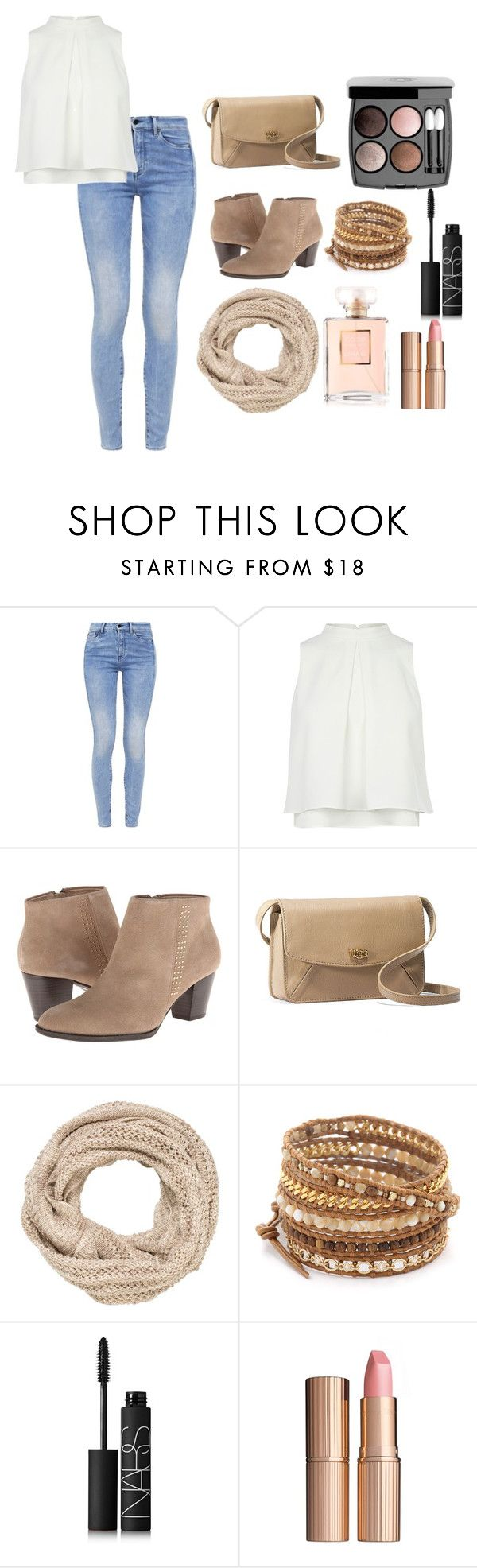 """#Style"" by saniatanseem ❤ liked on Polyvore featuring G-Star, Vionic, UGG Australia, maurices, Chan Luu, Chanel, NARS Cosmetics and Charlotte Tilbury"