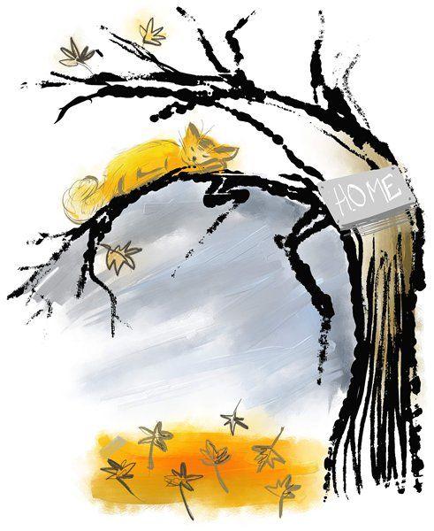 День 3 - показываем Дерево и рисуем Роботов! - Elina Ellis Illustration Page 3