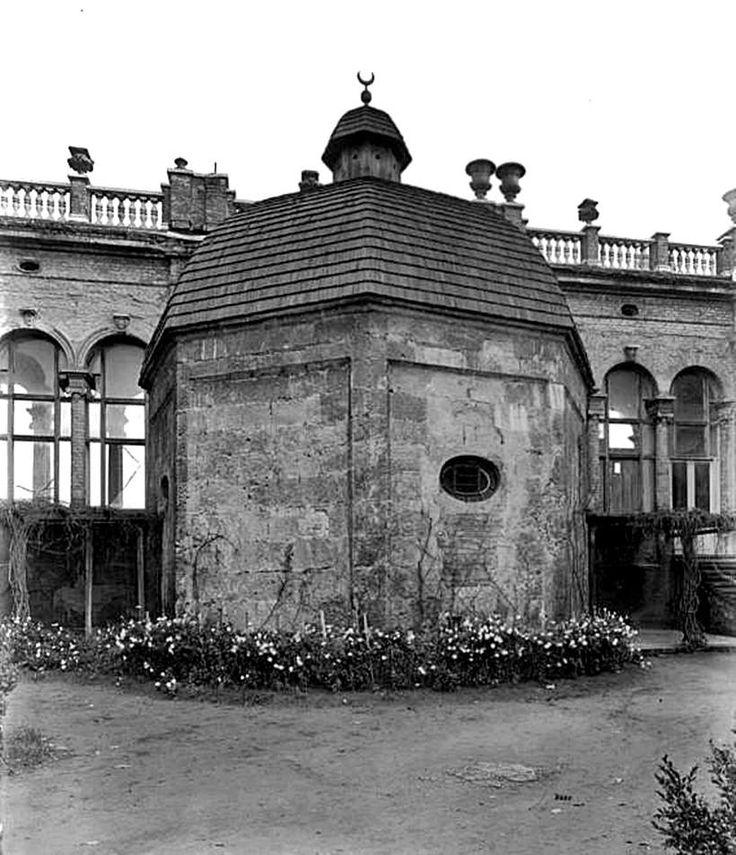 Budapest, (Mecset utca) Gül Baba türbéje és a köré épített Wagner villa. 1940