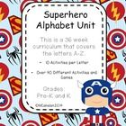 Superhero Alphabet Unit (PreK and K)  Does your child love Superheroes like Batman, Spiderman, or the Hulk?  Well this unit is packed with Superhero games and activities to keep your li...