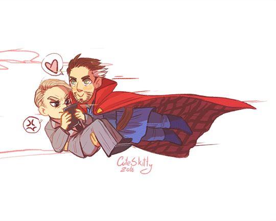 Au77 Doctor Strange Hero Illustration Art: 83 Best Everstrange Stross Images On Pinterest