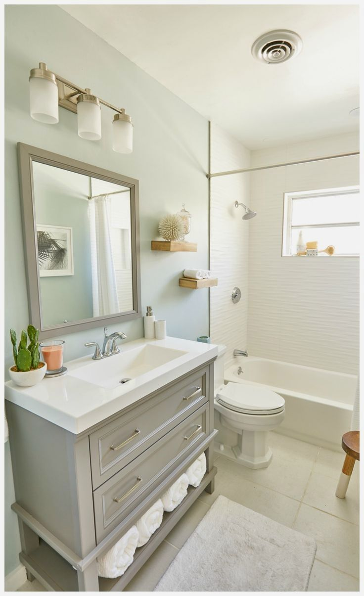 Need Ideas For A Small Bathroom Renovation Check Out These 8 Ways To Make A Small Bathroom Feel Bigger Bathroom Remodel Cost Small Bathroom Bathrooms Remodel