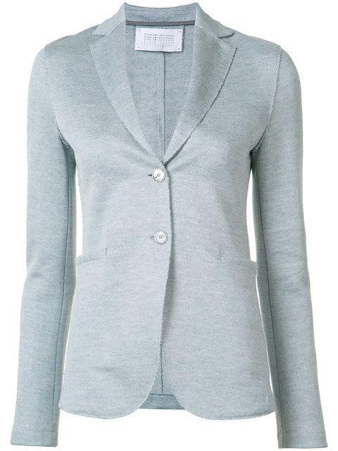 HARRIS WHARF LONDON Textured Blazer Jacket. #harriswharflondon #cloth #jacket