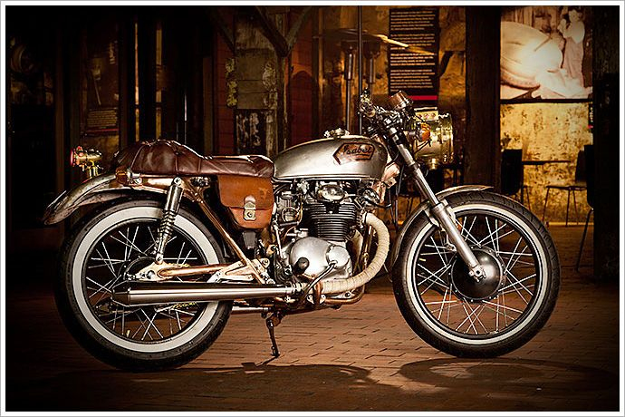 '73 Honda CB250 -'Isabel' - Pipeburn - Purveyors of Classic Motorcycles, Cafe Racers & Custom motorbikes