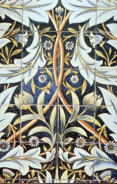 William Morris design - I want to make these into kitchen tiles for the kitchen