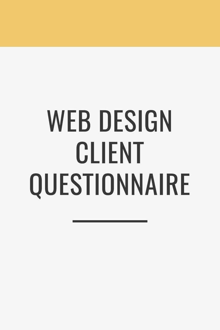 Client Questionnaire The Busy Bee In 2020 Web Design Tips Client Questionnaire Web Design