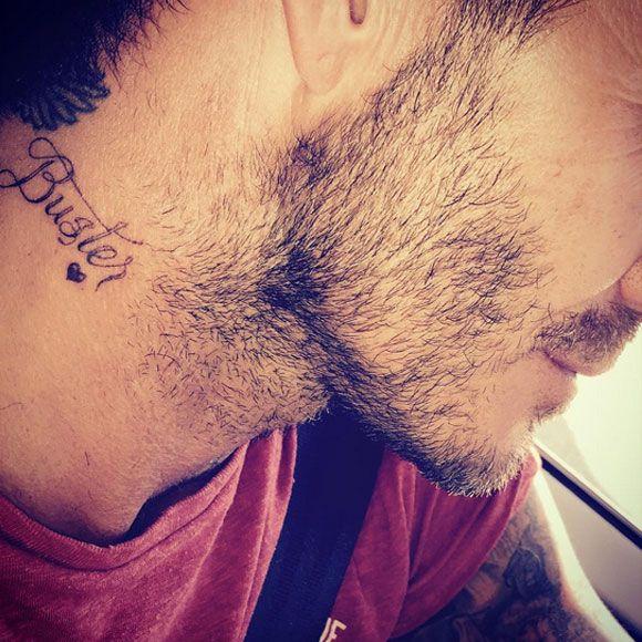 Le nouveau tatouage de David Beckham spécialement pour son fils Brooklyn   HollywoodPQ.com