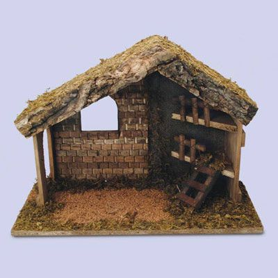 Pilgrim Shop - Walsingham - Walsingham Products - Nativity Stables - Wooden Nativity Stable
