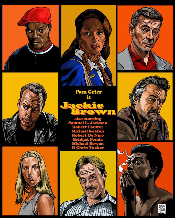 Jackie Brown by Quentin Tarantino (1997) // Probably Tarantino's most overlooked movie and, in my opinion, his absolute best.