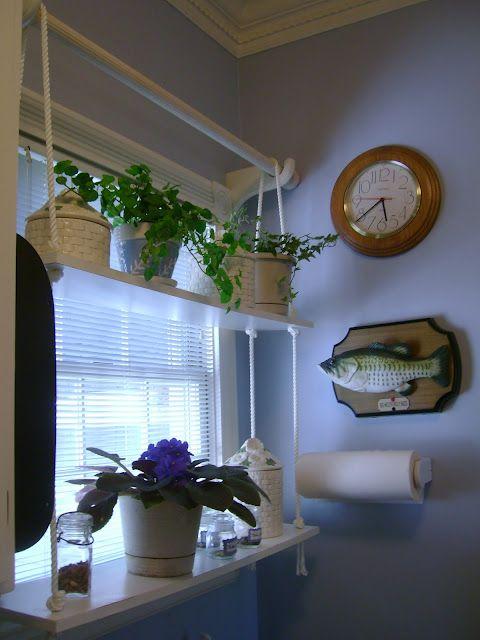Savannah Granny: Sunny Window Shelf (I love the shelf but not the fish.)
