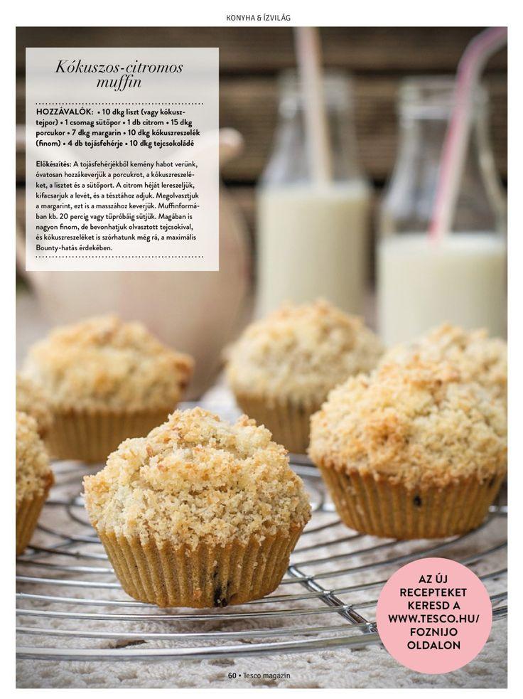 Kókuszos csodadesszert egyszerűen #desszert #muffin #kókusz #finom #Tesco #egyszerű #tescomagyarorszag