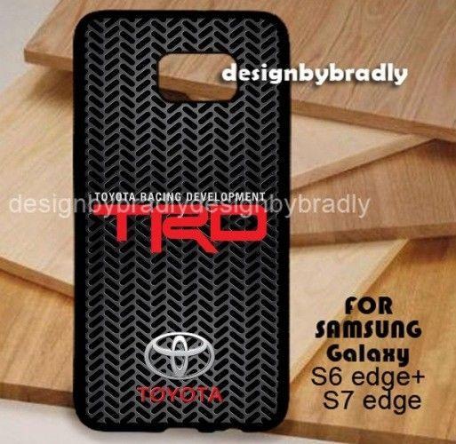 Toyota TRD Automotive Logo Black Samsung Galaxy S3 S4 S5 S6 S7 S8 Edge Plus Case #UnbrandedGeneric