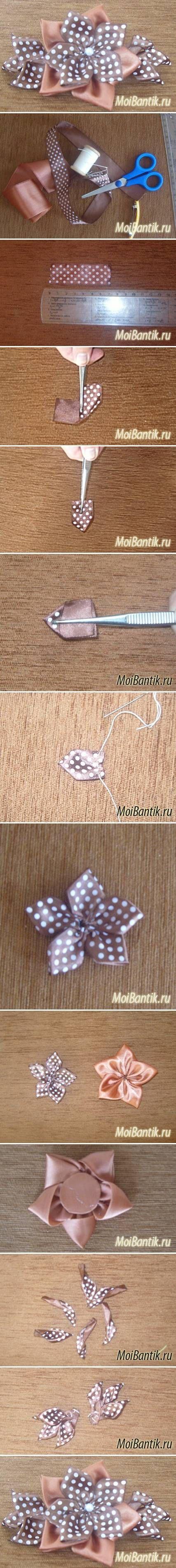 DIY Coffee Flower Hairpin DIY Projects | UsefulDIY.com Follow us on Facebook ==> https://www.facebook.com/UsefulDiy