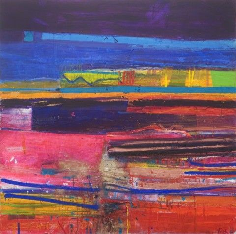 RA Summer Exhibition 2015 work 65 : INLET by Barbara Rae RA, £57000.