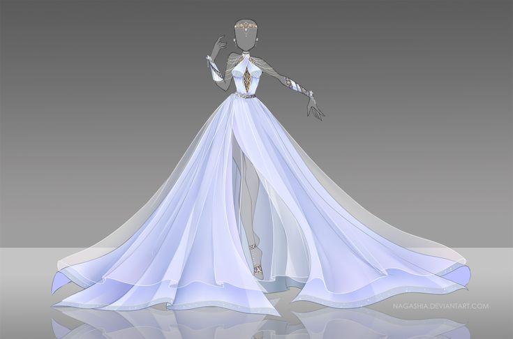 Vestido hielo Siara